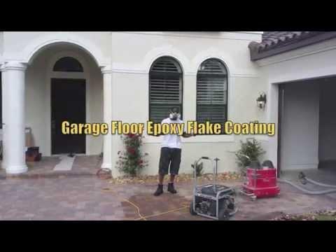 Epoxy flooring for garage | Garage epoxy coating Orlando | Garage floor paint