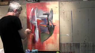 Untitled No 2 abstract painting time lapse