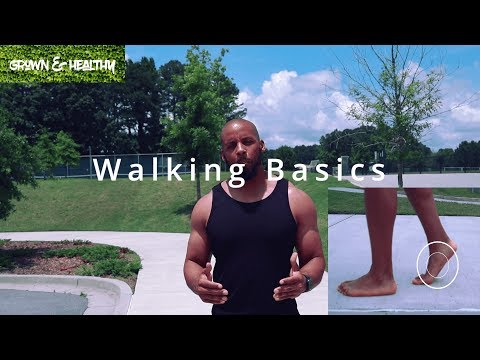 How to Walk ( forefoot/midfoot )