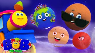Planets Song | Abc Song | Numbers Song | Hickory Dickory Dock | Five Little Monkeys | bob the train