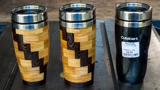 Woodturning Segmented Coffee Mug