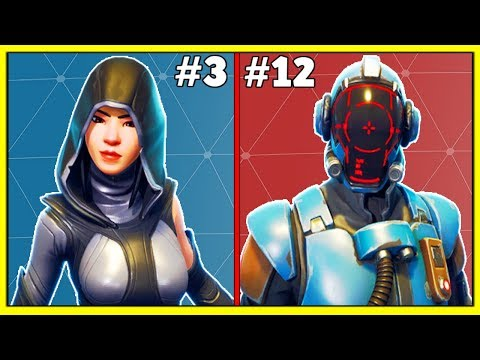 RANKING ALL SEASON 4 SKINS FROM WORST TO BEST! (Fortnite Battle Royale!)