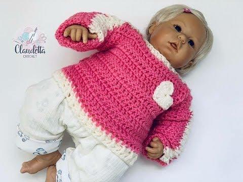 Einfachen Baby Pullover Häkeln Super Für Anfänger Geeignet