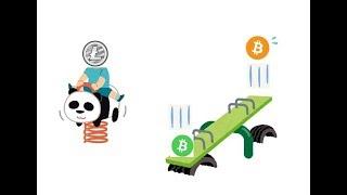 ビットコインとビットコインキャッシュのシーソーゲームは続く・・・ thumbnail