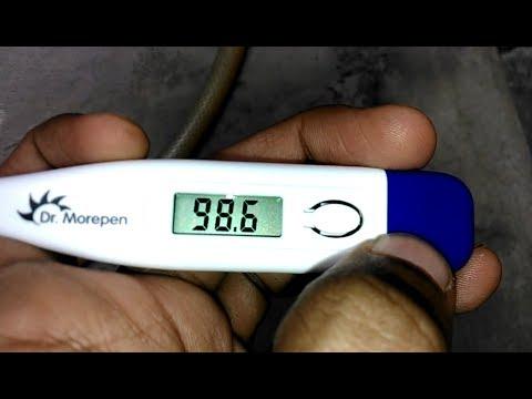 Digital Thermometer Celsius C To Fahrenheit F