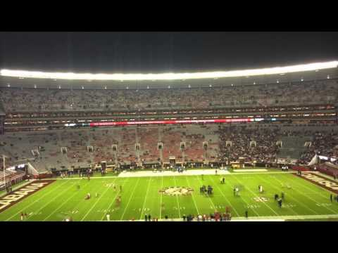 Timelapse of Bryant-Denny Stadium filling for Alabama-LSU 2015