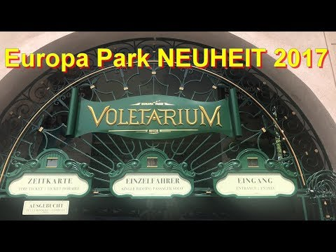 Voletarium - Europa Park Neuheit 2017 Walkthrough - Project V Flying Theater