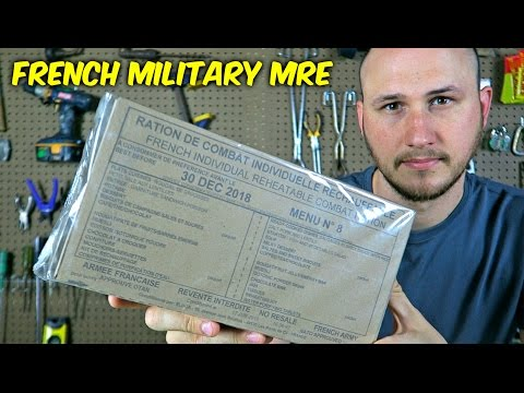 Thumbnail: Testing French Military MRE (24Hr Combat Food Ration)