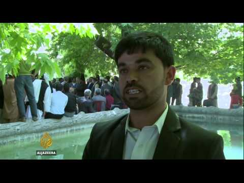 Afghanistan teachers' strike enters 12th day