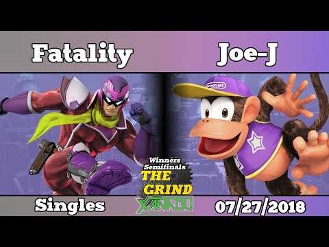The Grind 37 Fatality (Captain Falcon) vs Joe-J (Diddy Kong) Winners Semifinals