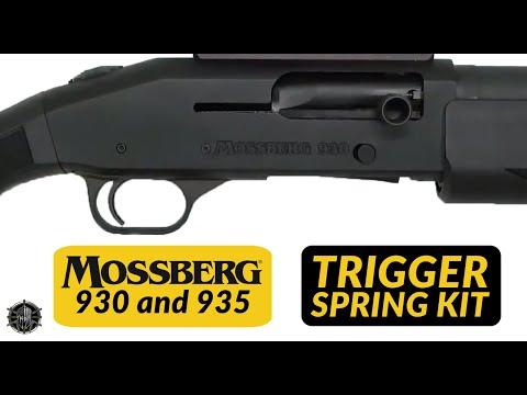 Mossberg 930 and Mossberg 935 Trigger Spring Kit Installation Trigger Job