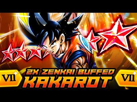 A MUST HAVE UNIT! KAKAROT GOKU w/ 2x ZENKAI BUFFS ABSOLUTELY HURTS!   Dragon Ball Legends PvP