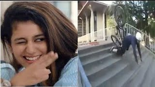 Priya Prakash Varrier Attack On Stunt Rider | By CapTain MotoHolic