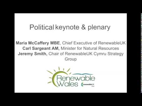 Political keynote and plenary session