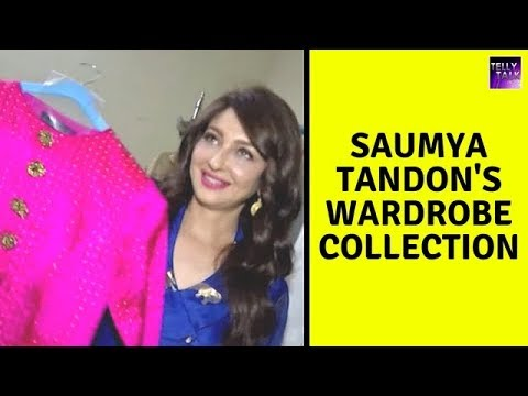 Saumya Tandon Aka 'Anita Bhabhi' Shows Off Her Wardrobe Collection