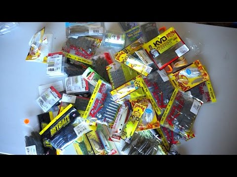 GIANT FISHING LURE UNBOXING!!!