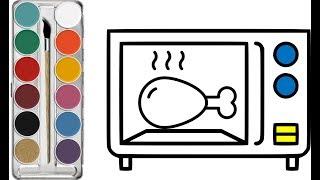 رسم وتلوين للاطفال / لعب ومرح للاطفال/ drawing & coloring for kids