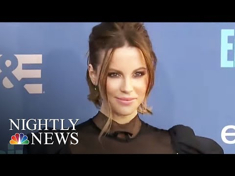Actress Kate Beckinsale Accuses Harvey Weinstein Of Sexual Harassment | NBC Nightly News
