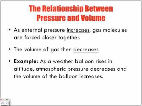 Gas Pressure and Volume (Boyle's Law) Lecture