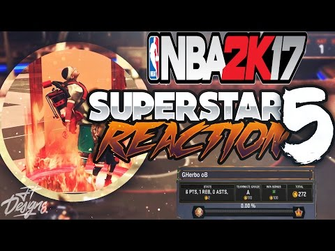 SS5 LIVE REACTION! I HIT SS5 DURING DOUBLE REP ON NBA 2K17!! (FINALLY SS5!)