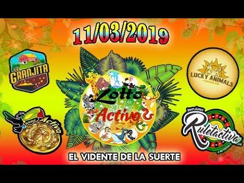 Datos Fijos para Lotto Activo y la Granjita 11/03/2019 El Vidente de la Suerte!!!