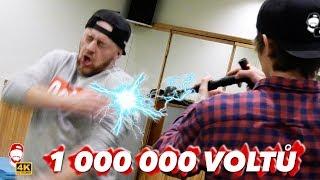 ⚡️ Jaké je dostat 1 000 000 voltů? Test paralyzérů + SOUTĚŽ! | WRTECH [4K]