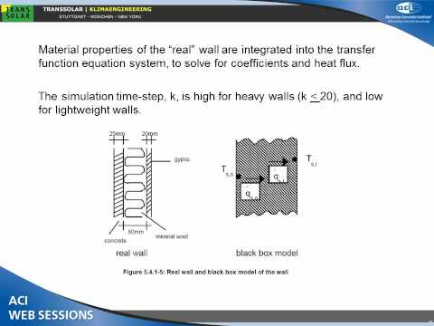 Thermal Mass Simulation Accuracy and Design Considerations