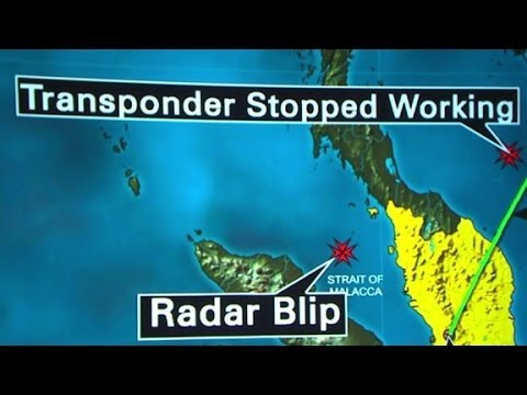 Malaysia Airlines plane at bottom of Indian Ocean?
