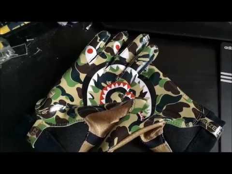 selezione straordinaria 2019 prezzo all'ingrosso eccezionale gamma di colori Adidas x Bape Adizero 8.0 glove review
