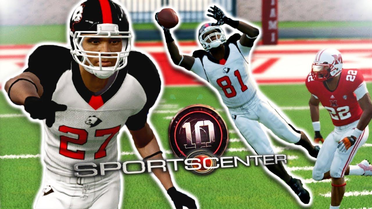 sportscenter-worthy-catch-double-header-ncaa-14-team-builder-dynasty-ep-51-s5