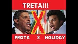 Briga entre o Vereador Fernando Holiday MBL x Alexandre Frota