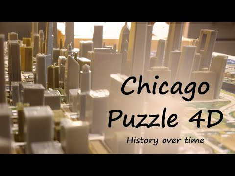 Puzzle 4D - Chicago - History Over Time Puzzle