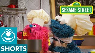 Sesame Street: How to Make Pup-sicle Doggie Treats! | Cookie Monster's Foodie Truck