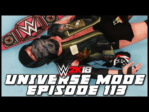 WWE 2K18 | Universe Mode - 'FASTLANE PPV!' (PART 3/3) | #113