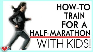 Mom Hacks: How To Train For A Half Marathon (With Kids)! | Michelle from Millennial Moms