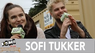 B-Sides On-Air: Interview - SOFI TUKKER at Treasure Island Music Festival 2016