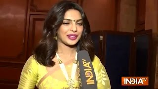 Priyanka Chopra Exclusive Interview after Receiving Padma Shri Award