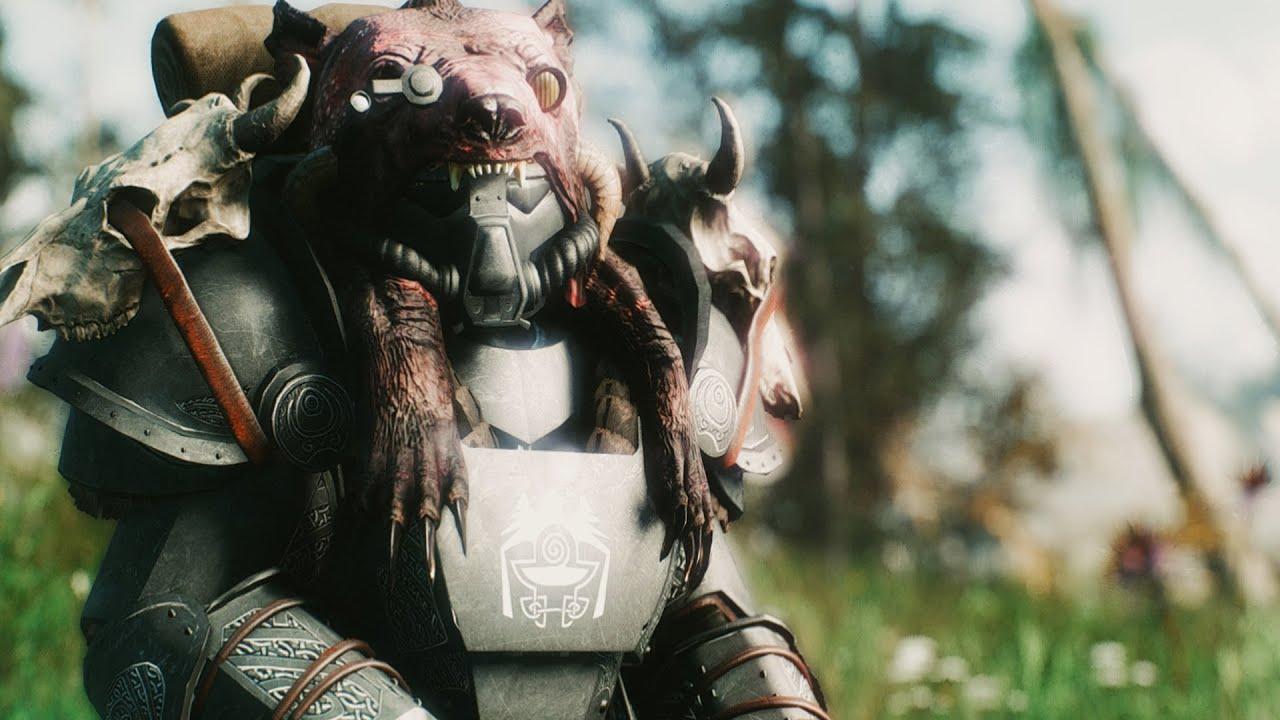 TES-51 Power Armor -Skyrim Inspired- at Fallout 4 Nexus