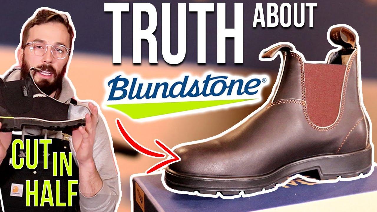 Blundstone Classic vs Original - (CUT IN HALF) - Blundstone Boot Review -  YouTube