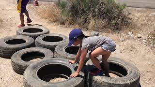 Terrain Race 2019| All Obstacles| San Bernardino- Inland Empire| Mini Monkey