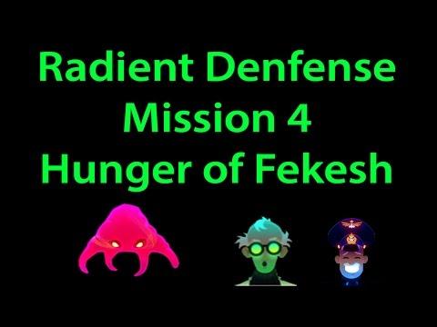 Radiant Defense Mission 4 Hunger of Feshek (without packs) 3 stars walkthrough