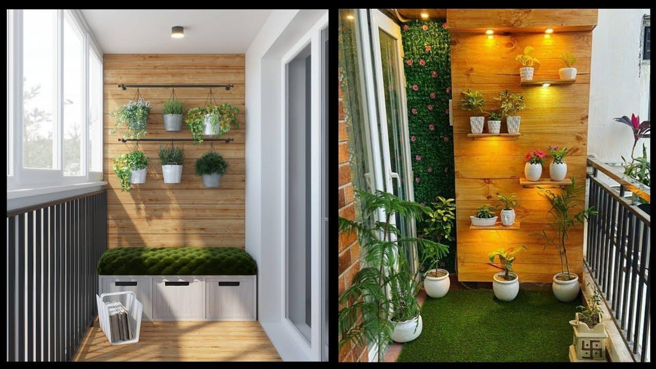 Beautiful Balcony Design Ideas Small Balcony Makeover Easy Diy Balcony Decoration Ideas Youtube