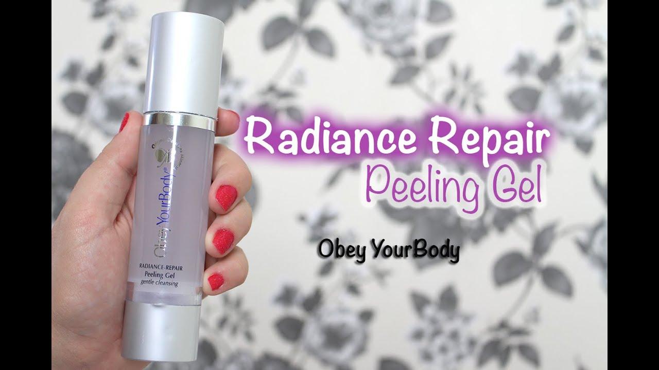 Peeling em gel - Obey your Body   Resenha em 2 mintuos ...