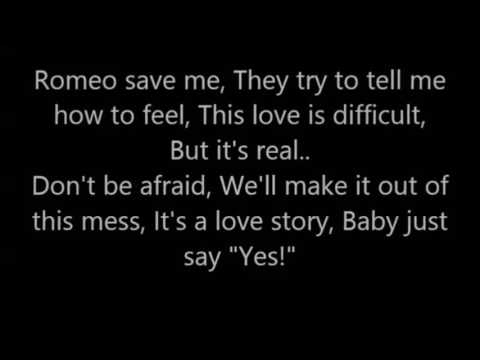 Love story , Taylor Swift Lyrics