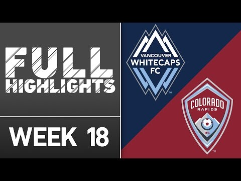 HIGHLIGHTS: Vancouver Whitecaps FC vs. Colorado Rapids | July 9, 2016
