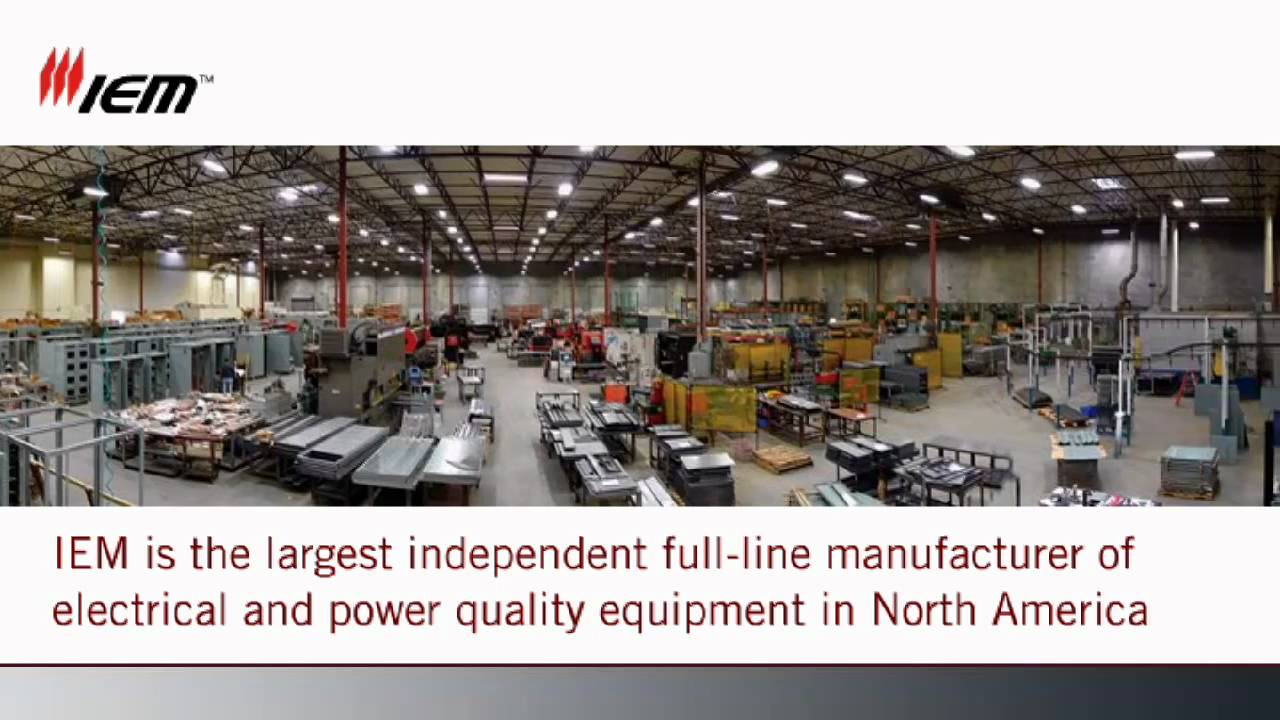 IEM Industrial Electric Mfg - YouTube