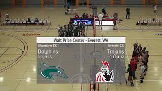 Volleyball-Everett CC vs Shoreline CC