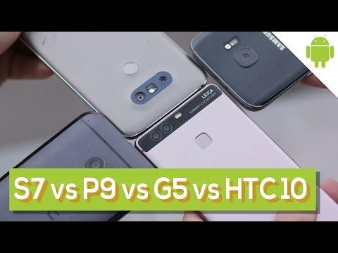 """Galaxy S7 vs HTC 10 vs LG G5 vs Huawei P9: la sfida tra """"top""""   HDBlog"""