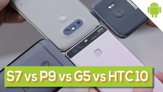 "Galaxy S7 vs HTC 10 vs LG G5 vs Huawei P9: la sfida tra ""top"" 