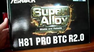 [Майнинг] ⛏️ Оптимальная комплектация для майнинга. RX 470 / Intel  G1840 / ASRock H81 Pro BTC